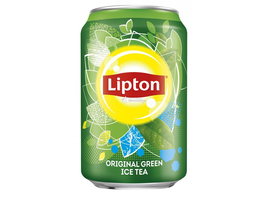 Lipton green ice tea plechovka 0,33l