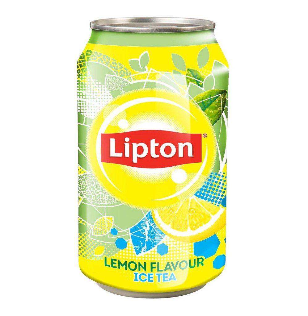 Lipton Lemon tea plechovka 0,33l