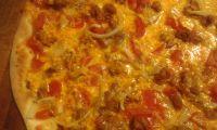Zobrazit detail - Mexická pizza s mexickými ingrediencemi - hovězí 32cm - pouze Jesenická/Rozvoz