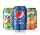 Zobrazit detail - Pepsi nebo Mirinda nebo 7Up k pizze za 10 Kč K jedné pizze jedna plechovka !!!!!!!!!!!!!!!